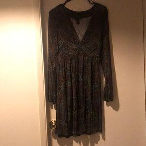 Babydoll style Boho chic dress